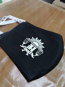 สกรีนหน้ากาก พิมพ์ หน้ากากอนามัย Royal thai navy ราชนาวีไทย