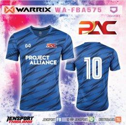 Project Alliance PAC เสื้อ warrix รุ่น WA-FBA575 สีน้ำเงิน
