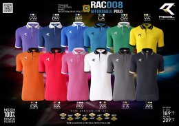 เสื้อฟุตบอลคอปก REAL RAC-008 ทีม hongsa power