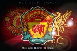สุดยอดการ รังสรรค์ ออกแบบโลโก Liverpool x Manchester United
