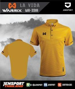 เสื้อทีม Draft Beer ครับผม warrix WA-3318 คอปกสุดสวย สีทอง