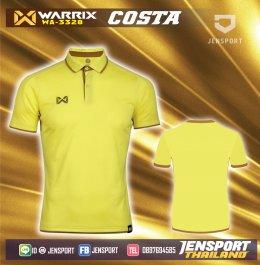 OPERATIONS TRAINING เสื้อ Warrix สีเหลือง รุ่น WA-3328