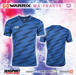 เสื้อฟุตบอล Warrix WA-FBA575 สีน้ำเงิน