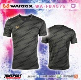 เสื้อฟุตบอล Warrix WA-FBA575 สีดำ