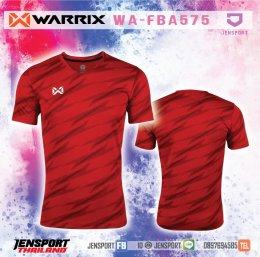 เสื้อฟุตบอล Warrix WA-FBA575 สีแดง