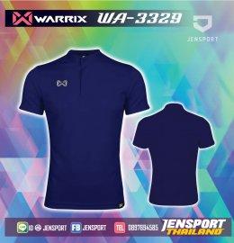 เสื้อฟุตบอลคอปก Warrix WA-3329 น้ำเงิน