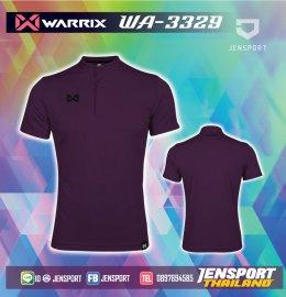 เสื้อฟุตบอลคอปก Warrix WA-3329 ม่วง