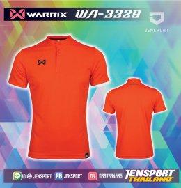 เสื้อฟุตบอลคอปก Warrix WA-3329 ส้ม