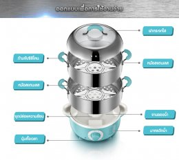Electric Food Steamer - BR00013
