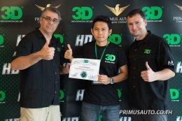 งานสัมนาฝึกอบรมหลักสูตรการขัดเคลือบสีรถสำหรับคาร์แคร์โดยผู้เชี่ยวชาญ Mr.Javier Boxler และ Mr.Hector Glaciar จาก 3D HD จากประเทศสหรัฐอเมริกา