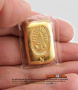 ทองคำแท่งยี่ห้อ แม่ทองสุก น้ำหนัก 45.72กรัม (3บาท)