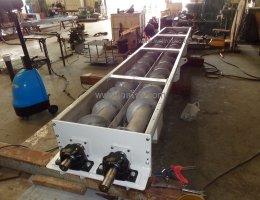 สกรูลำเลียงแบบ2แกน(Twin screw conveyor)