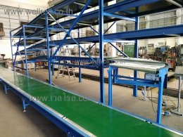 สายพานลำเลียงแบบรางแบน(Flat belt conveyor)-1