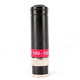 AY เสายางทรงลิปสติก 140-150 MHz(ฺBLACK)