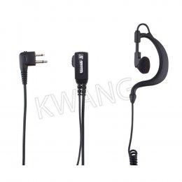 KYOWA ไมค์พร้อมหูฟัง ใช้สำหรับวิทยุสื่อสาร GP300 สีดำ