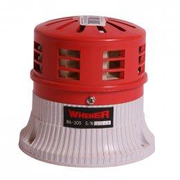 WHENER ไซเรนไฟฟ้า WA-305A (12V) สีแดง