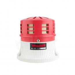 WHENER ไซเรนไฟฟ้า WA-305B-R (24V) สีแดง
