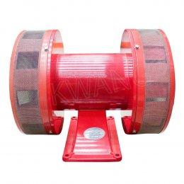WHENER ไซเรนไฟฟ้า WA-406 (220V) สีแดง