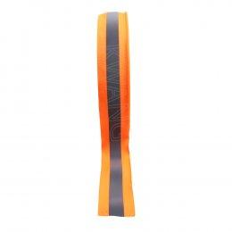 """KYOWA แถบผ้าสะท้อนแสง(หนา)ขนาด2""""x100m.สีส้มคาดเทา"""
