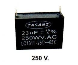 คอนเดนเซอร์สี่เหลี่ยมเสียบ B 250V