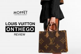 Louis Vuitton Onthego : Moppet Review