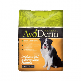Avoderm Adult Chicken Meal & Rice Formula 6.8 kg.