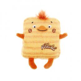 Gigwi Plush Friendz with Squeaker Duck