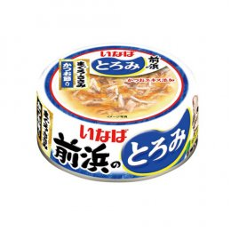 INABA Cat Food Canned Tuna White & Red Chicken Fillet with Bonito (125 g.)