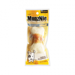 "MunzNie Crunchy Bones 3.5"" Wrapped with Chicken Breast (1 pcs.)"