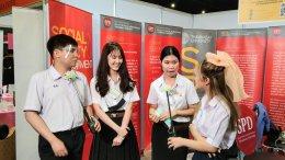 The SPD Team at Dek-D TCAS Fair, 30th October 2020