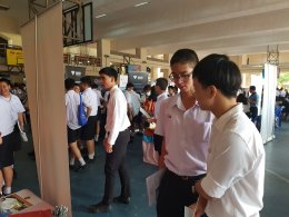Promoting our SPD Programme at The University Fair at Suankulab Wittayalai School, Bangkok
