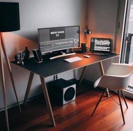 จัดโต๊ะทำงานใช้แสงแบบไหนดี??