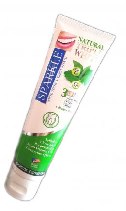 Sparkle Triple White Toothpaste 100 g.