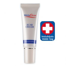 Melaklear Scar Cream plus Vitamin E 10 g.