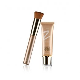 Faris Zokyo Full Coverage Liquid Foundation SPF 33 PA++ 30 g. (แถมแปรง)