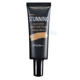 Mistine Stunning High Cover Matte Skin Cream SPF 30 PA++ 15 g.