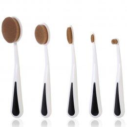 odbo Oval Makeup Brush OD879 (5 pcs)