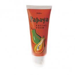 Mistine Papaya Facial Foam 100 g.