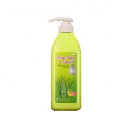 Mistine Aloe Vera & Snail Body Serum Lotion 450 ml.
