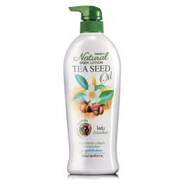Mistine Natural Body Lotion Tea Seed Oil 500 ml.