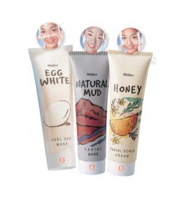 Mistine Mask and Scrub