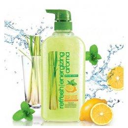Mistine Refreshing Energizing Aroma Shower Cream 500 ml.