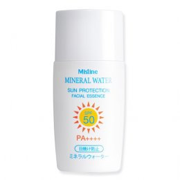 Mistine Mineral Water Sun Protection Facial Essence SPF 50 PA+++ 25 ml.