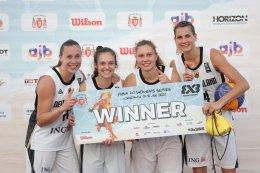 เยอรมนีคว้าชัย FIBA 3x3 Women's Series Constanta Stop