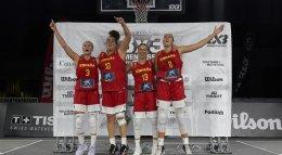สเปน คว้ารางวัลชนะเลิศ FIBA 3x3 Women's Series เมืองมอนทรีออล ประเทศแคนาดา