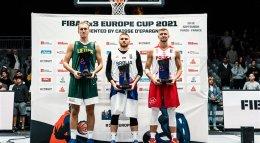 PASAJLIC ได้รางวัล MVP รายการ FIBA 3X3 EUROPE CUP Presented by CAISSE D'EPARGNE