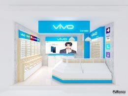 ออกแบบร้าน จำหน่ายมือถือ ร้าน vivo by A.P. MOBILE  @ bic c ราชดำริ  กรุงเทพมหานคร