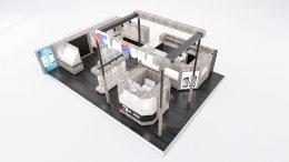 ออกแบบร้านจำหน่ายมือถือ SC MOBILE