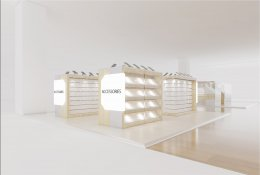 ออกแบบร้าน AA MOBILE The Walk นครสวรรค์ - เทศบาลนครนครสวรรค์
