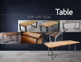 FURniture Loft Style : โต๊ะ เก้าอี้ ม้านั่ง